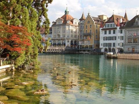 Швейцария – алпийска импресия